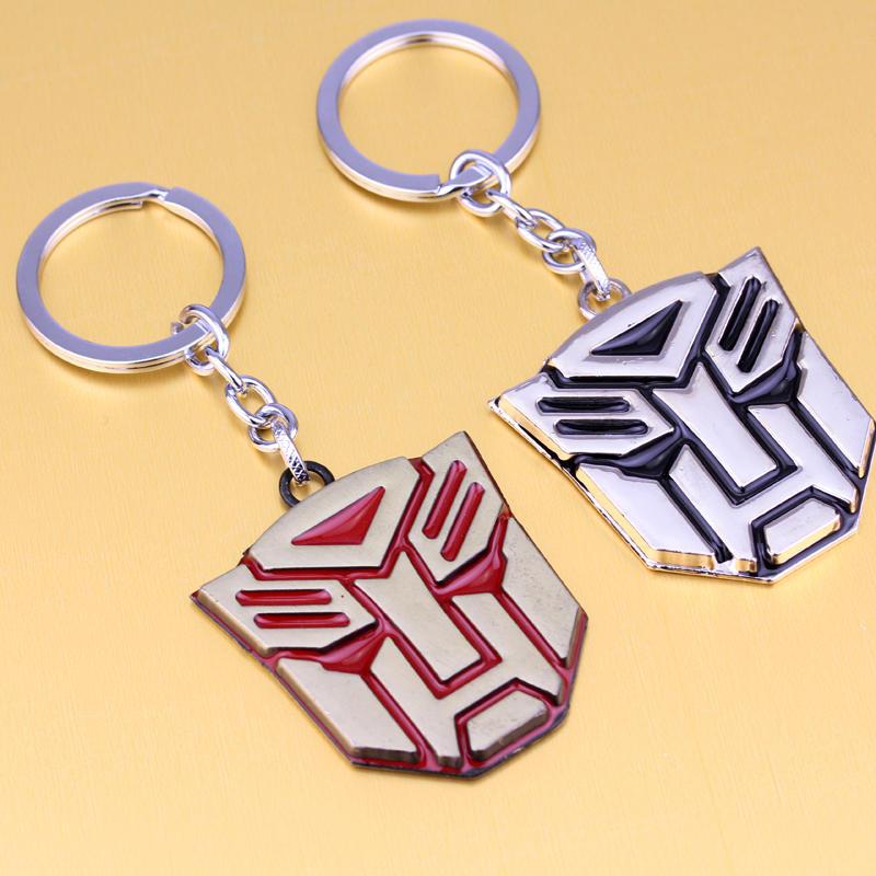 dongsheng Fashion Transformation Robot Bumblebee Mask Keychain enamal Deformation Car keyring men women high quality jewelry