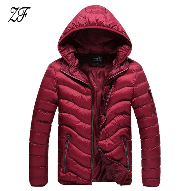ФОТО 2016 New Arrive Autumn and Winter Mens Jacket and Coats Fashion Men Cotton padded Coats Men's Cotton-Padded Clothes