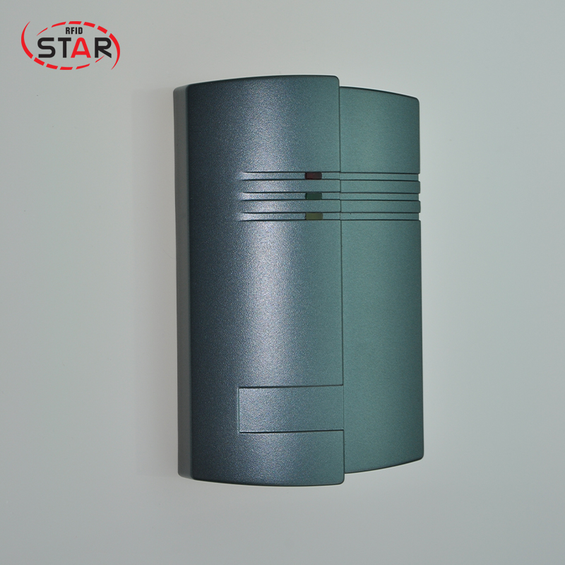 RFID Card Reader ST-D05 Weigand26/34 125KHz EM ID access reader ABS+Epoxy ip65 waterproof door access control card reader weigand26 125khz rfid color attention light em id card reader