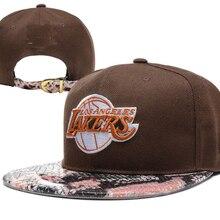 f3f68ca76675b5 lakers snapback cap football team snapback hat rugby football cap visor  custom hats basketball team Cap
