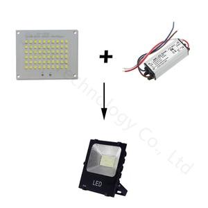 Image 3 - 100% Full Power LED Floodlight PCB 10W 20W 30W 50W SMD2835 LED Lamp led PCB board Aluminum plate for led 10 20 30 50W floodlight
