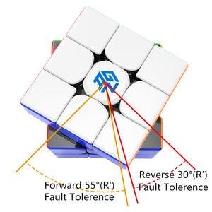 Image 3 - لعبة مجسم سريعة سحرية من Gan356R S 3x3x3 لعبة مكعب الجان احترافية بدون ملصقات Gan356 RS 3x3 مجسم v2 gan 356RS ألعاب الألغاز Gan 356 R S