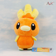 16cm Pokemon Torchic Plush Doll Toy Stuffed Dolls 6 Figure Doll Gifts for Children and Christmas