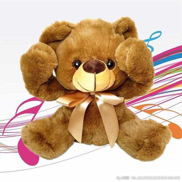New Peek A Boo Stuffed Animal plush toy peek a boo teddy bear elephant panda children