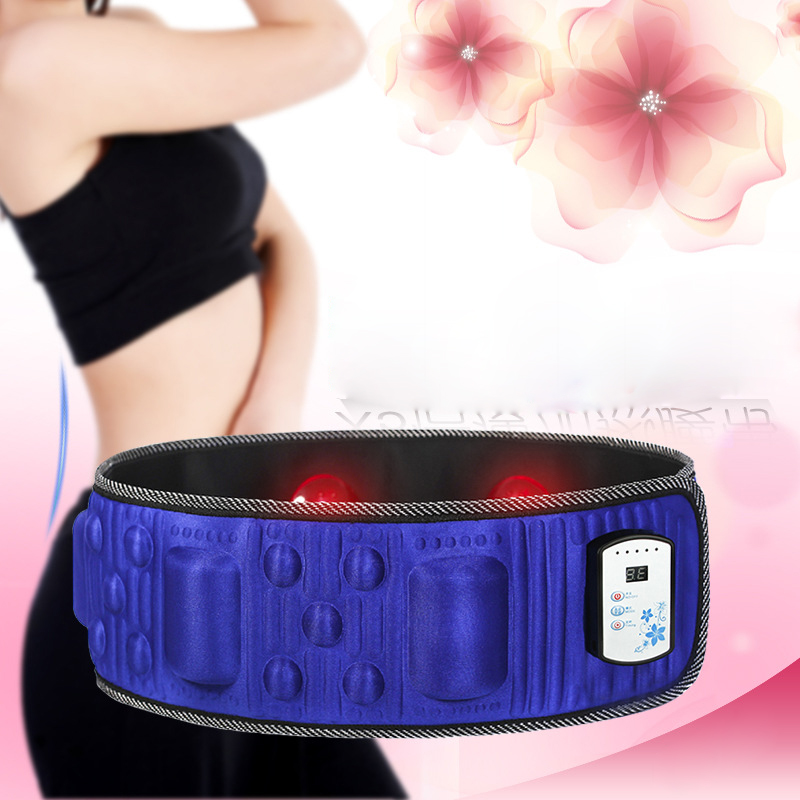 JORZILANO Infrared Electronic Body Slimming Massage Belt Gymnic Muscle Exercise Arm Leg Waist Vibration Electric Massager Belt