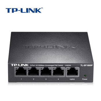 TP-Link TL-SF1005P 5 Post Fast POE Switch Power Over Ethernet monitoring Wireless AP for IP Camera 48V/1.25A Max 57W