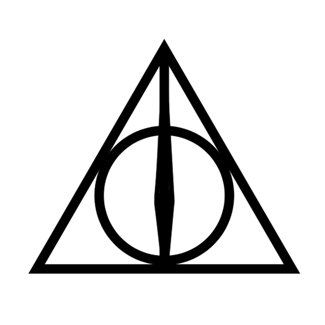 Christmas Gift Harry Potter Deathly Hallows Luna Lovegood Triangle