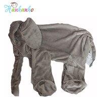 Giant al por mayor de Piel Infantil Peluche de Elefante de Peluche de Juguete Muñeca Niños Durmiendo Funda de Almohada Suave Juguete Del Bebé