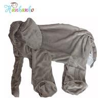 Groothandel Giant Olifant Knuffel Huid Baby Knuffel Pop Kids Slapen Kussensloop Zachte Baby Speelgoed