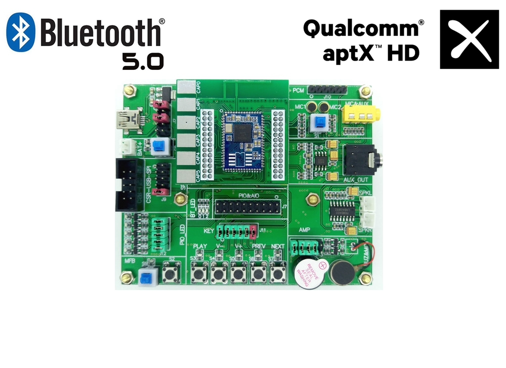 CSR8670 Development Board CSR8670 Learning Board ADK4.3 Comes with Touchpad Fourth Generation Bluetooth 5 auo 12201 v1