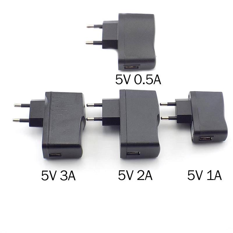Зарядное устройство Micro USB 5В 0.5а 1А 2А 3а настенное зарядное устройство AC-DC зарядный блок питания 100В-240В выход для светодиодных лент светильни...