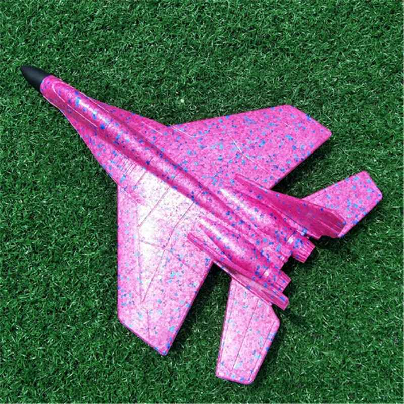 New Children Toy 19/44cm Plane Model Outdoor Fun Toys hand throwing glider Aircraft Glider Inertial Foam EPP Airplane