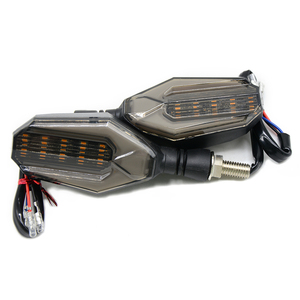 Image 4 - 유니버설 오토바이 LED 차례 신호 표시 등 깜박이 렌즈 블랙 램프 혼다 CBR250R Bmw G650GS F700GS VT 750s VFR400