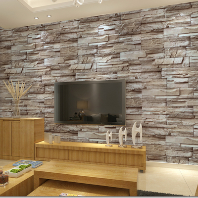 Waterproof Custom Wallpaper The Sticky From Bedroom A Sitting Room Background Wall Brick Restoring