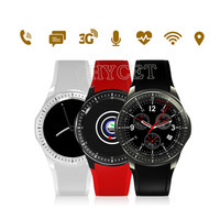 Android Smart Watch DM368 SmartWatch OLED Display Wristwatch Android 5 1 Bluetooth IOS Android Heart Rate