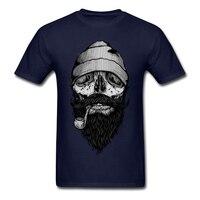100 Cotton Mens Tee Crazy Man Bone Sailor T Shirt 100 Cotton Discount T Shirt Software