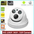 CCTV Câmera CMOS Sensor 3000TVL Filtro IR-Cut Câmera AHD 720 P/1080 P Indoor/Outdoor Waterproof 1080 P Câmera de Segurança Lente de 3.6mm
