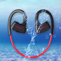P10 Bluetooth Headset IPX7 Waterproof Wireless Sport Running Headphone Stereo Music Earphone Headsfree W Mic For