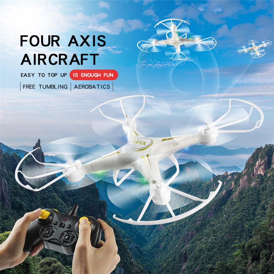 RC Helicopter Drone 2.4Ghz 4-Axis Quadcopter WiFi FPV Live Helicopter Hover MAY 25