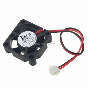 5PCS Gdstime Mini DC 12V 3cm 3010 30mm 30x30x10mm 2Pin Ball Bearing Brushless Cooling Cooler Fan 5pcs gdstime 2pin 12v 3010 30x30x10mm 30mm ball bearing small brushless dc cooler cooling fan