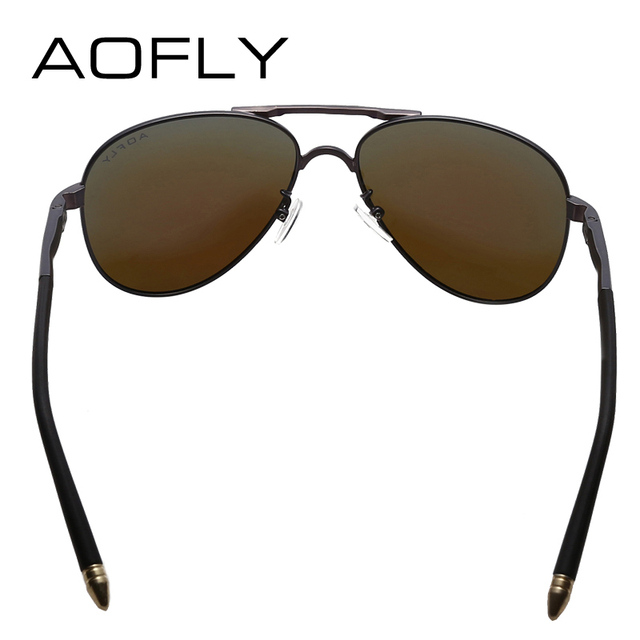 AOFLY Brand Men Sunglasses Fashion Cool Polarized Sports Men Sunglasses Male Driving Sun glasses for men Vintage Gafas De Sol 3