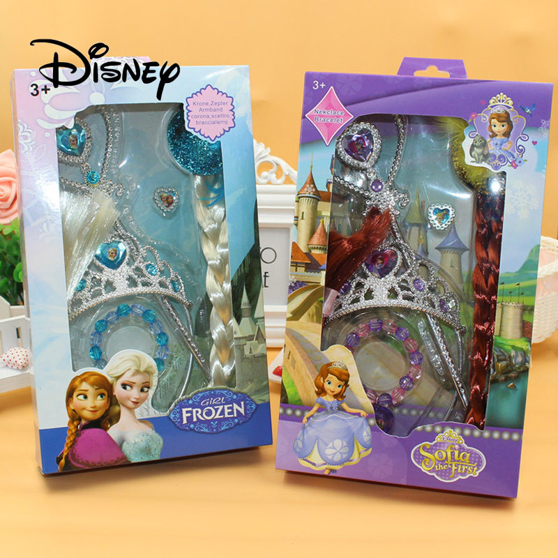 Beauty & Fashion Toys Toys & Hobbies Lower Price with Disney Frozen Pretend Play Hair Accessories Set Elsa Princess Girl Hair Accessories Hairpin Rubber Band Hair Comb Gift Box Customers First