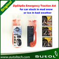 Newly High Performace 2016 ZipClipGo Emergency Traction Aid Tire Snow Chains for snow ice and mud for cars trucks SUVs