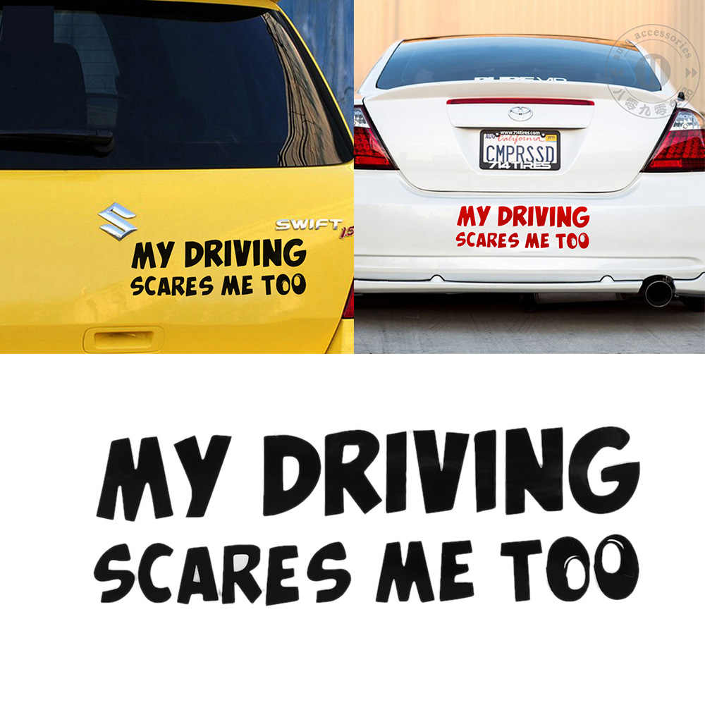 Detail Feedback Questions about 1Pcs Funny Car Stickers MY