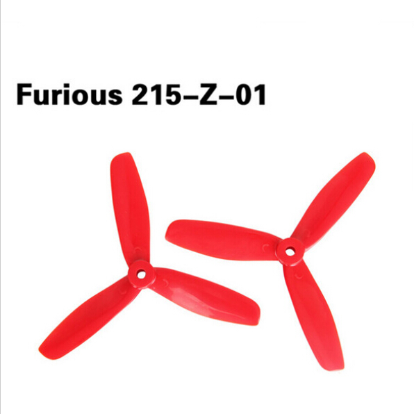 Original Walkera Furious 250 Spare Parts 1pair 215-Z-01 3-Paddle Propellers for Furious 215 FPV Racing Drone F20727