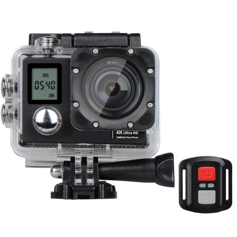 A1 Allwinner V3 Dual Channel 4K HD WiFi Sports Camera Waterproof Diving DV 173 Wide Angle 2.0 LCD HD 40M with Remote Cont cheerson cx 20 cx20 rc quadcopter original parts sports hd dv camera 12 0mp