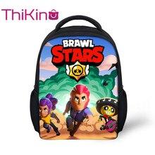 Thikin Drawl Stars Cartoon Preschool Packie Backpack for Kids Pupils Cat  Schoolbag Good Childrens Day Present