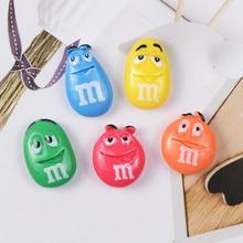 Kawaii плоские пластмассовые М Бобы милые конфеты diy Кабошоны украшения для скрапбукинга телефон Ремесло детали для декора