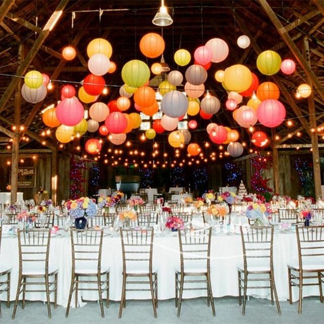 Free shipping 10pcs/lot 8''(20cm) Chinese paper lantern paper lamp wedding decoration 20 colors for choosing wedding lantern
