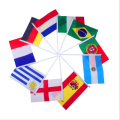 flags Banner Free combination   free shipping Hand waving Flag Optional  National Flag 14*21 cm   Mixed 10 Patterns as your wish
