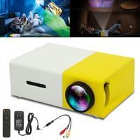 10 Вт-24 Вт YG300 Универсальный 60 дюймов HD портативный мини светодиодный карманный проектор для дома и развлечений