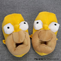 Anime Cartoon Simpson Homer Jay Zapatillas de Felpa Suave Juguetes Hombres Mujeres Unisex Calientes Zapatos Zapatillas de Casa
