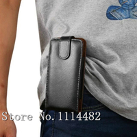 Belt Clip Leather Case For Mobile Phone Holster Cover For AllView P4 Life AllView A5 Easy