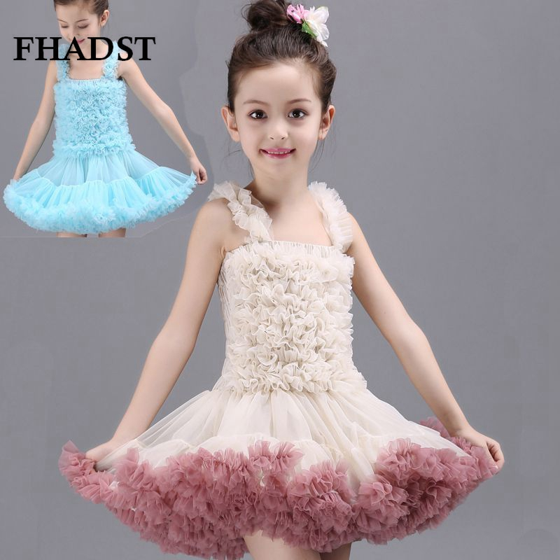 ФОТО FHADST Arrival Princess Style Dress  Children Cute Girls Formal Party Dress Wedding Birthday Dress European Sweet Style Lovely