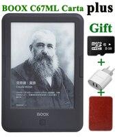 Новый ONYX BOOX C67ml carta + для чтения электронных книг 6 8 г wifi eink сенсорный экран 3000 мАч карман книги подарок Обложка и TFcard электронной книги