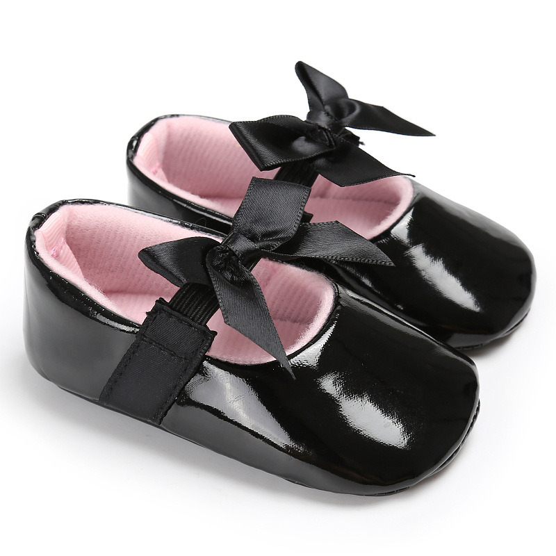 Baby First Walkers Baby Shoes Fashion Pu Leather Toddler Shoes for Baby Girls