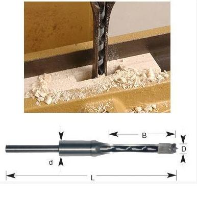 Hollow Square Hole Saw Mortiser Chisel Auger Drill Bit Woodworking Tool Speed up the Construction Speed stones bricks concrete cement stone 50mm wall hole saw drill bit 200mm round rod