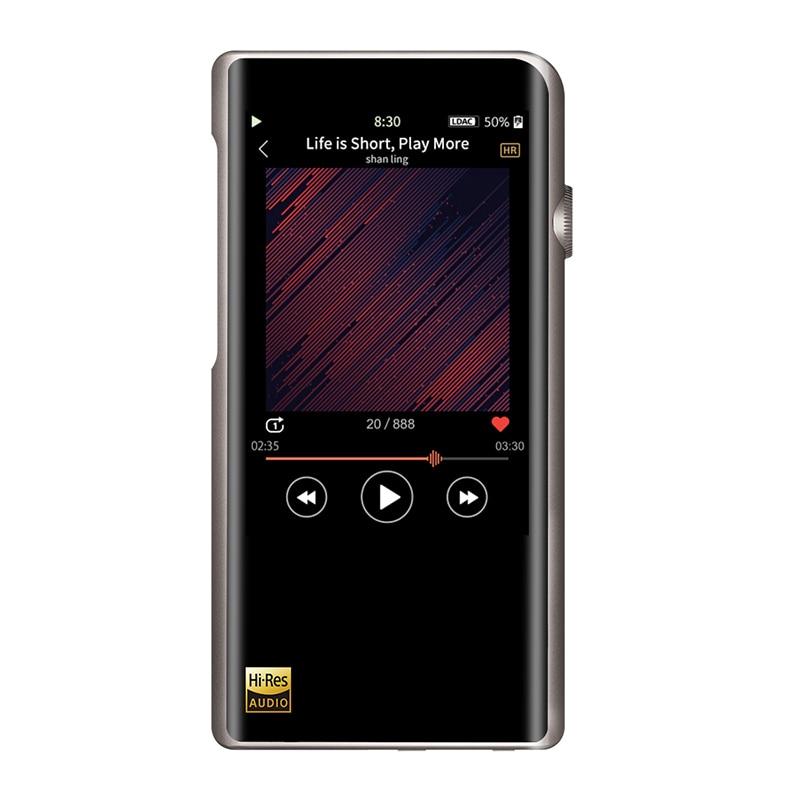 Shanling M5s AK4493EQ DAC Portable Hi-Res Music Player HIFI DAP MP3 With aptX Bluetooth Features DSD256 For Running Sports