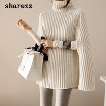 Knitted turtleneck Sweater European