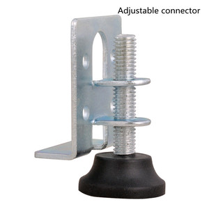 Image 1 - موصل قابل للتعديل منظم الأثاث ، والأثاث الأجهزة قابل للتعديل وسادة للقدم موصل غير مرئية