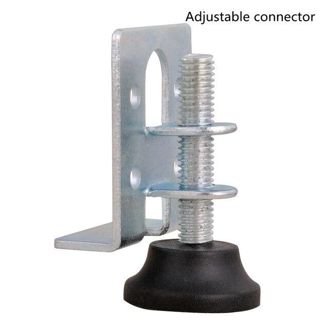 موصل قابل للتعديل منظم الأثاث ، والأثاث الأجهزة قابل للتعديل وسادة للقدم موصل غير مرئية