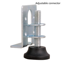 Connector adjustable furniture regulator, furniture hardware adjustable foot pad invisible connector