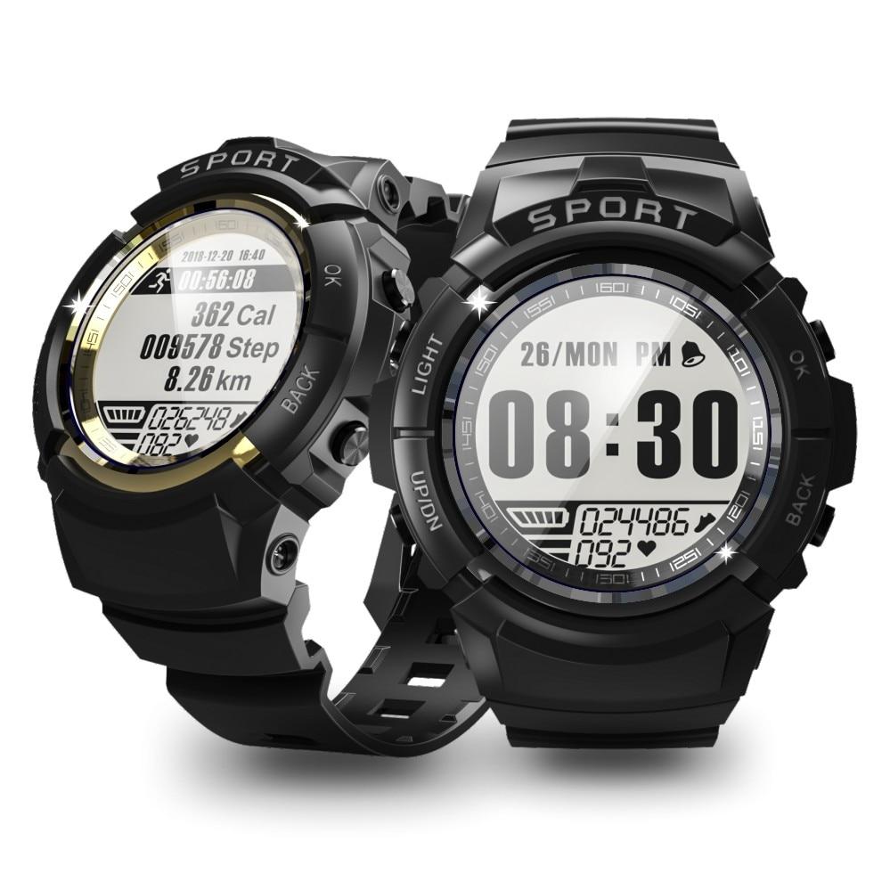 Sport étanche montre intelligente dynamique fréquence cardiaque boussole chronomètre réveil Smartwatch pour iOS Android
