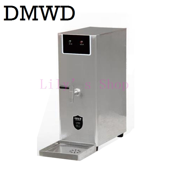 Commercial energy-saving electric water boiler water machine kettle 30L automatic boiling milk tea shop cafe EU US plug portable kakw 20sa electric commercial 20l black steel wiredrawing water boiler