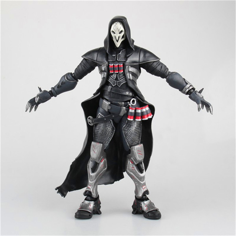 Hot Sale Reaper Death Black Movable PVC Figure Collectible Model Toy DE349 new hot christmas gift 21inch 52cm bearbrick be rbrick fashion toy pvc action figure collectible model toy decoration