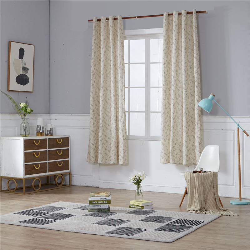 Modern Luxury Curtains hook For Living Room Kitchen Bedroom Window Blackout Kids Sheer Tulle Window Panel 140x220cm 2pcs|Curtains|Home & Garden - title=